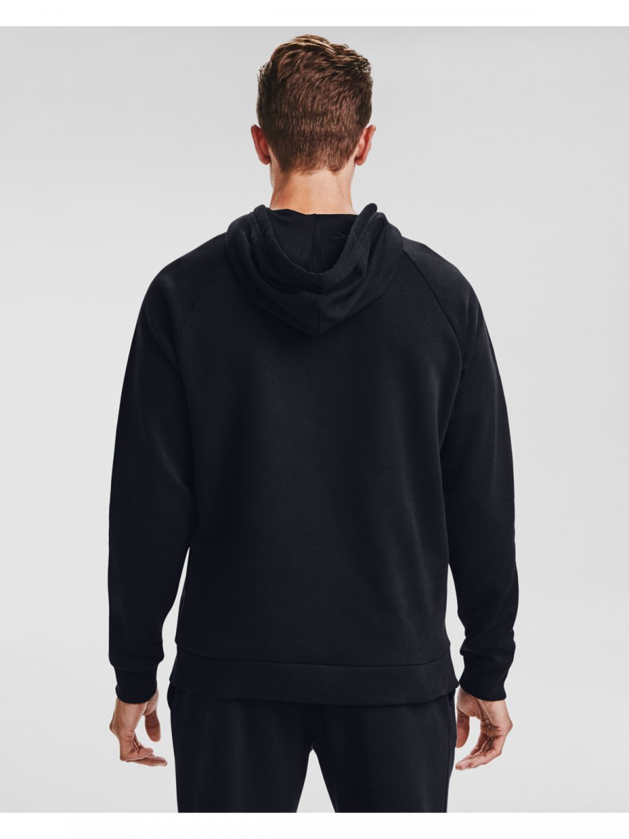 UNDER ARMOUR Męska bluza treningowa UNDER ARMOUR Rival Fleece Big Logo HD  4