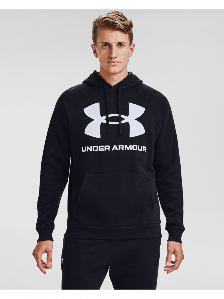 UNDER ARMOUR Męska bluza treningowa UNDER ARMOUR Rival Fleece Big Logo HD