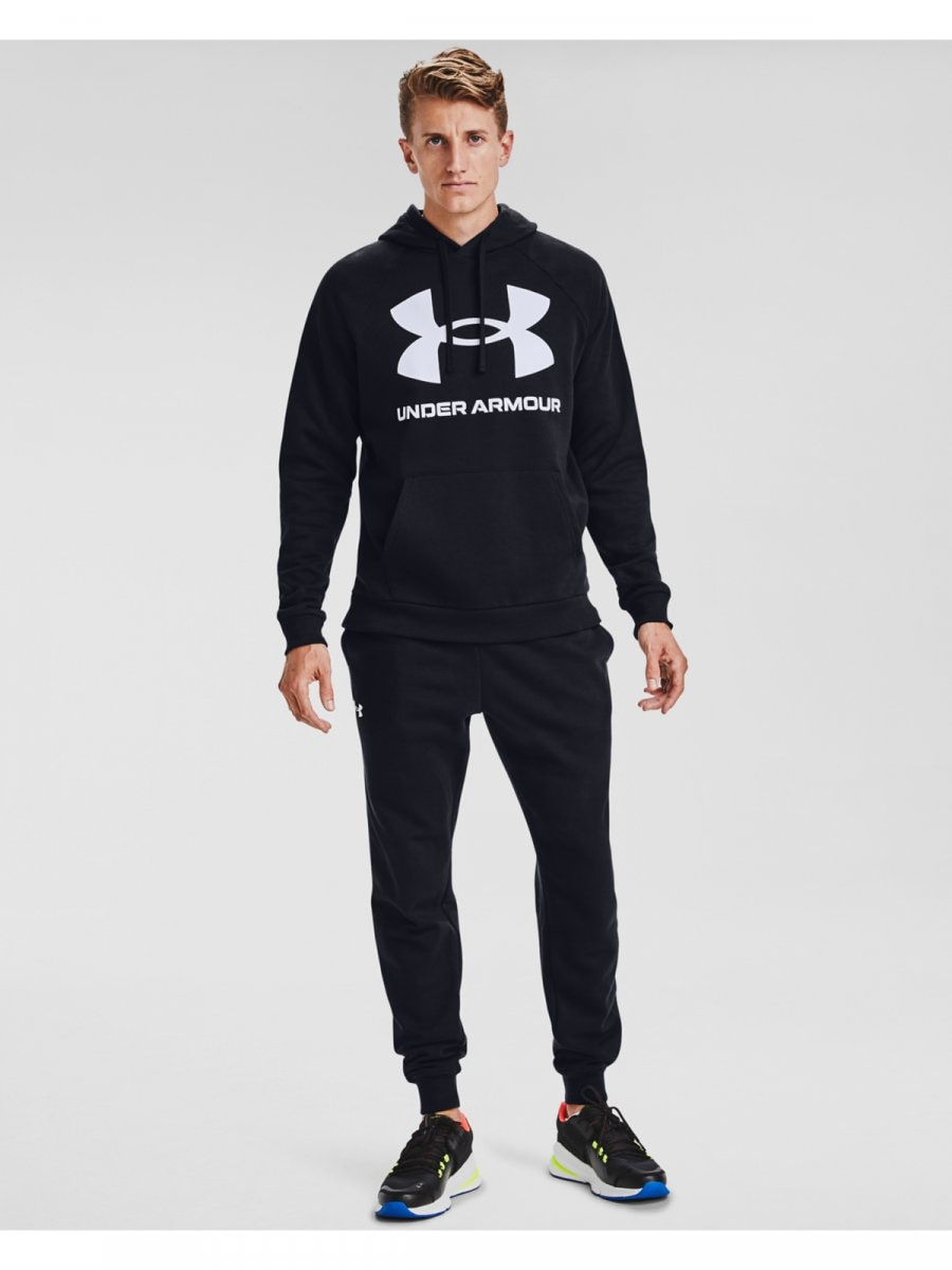 UNDER ARMOUR Męska bluza treningowa UNDER ARMOUR Rival Fleece Big Logo HD  2