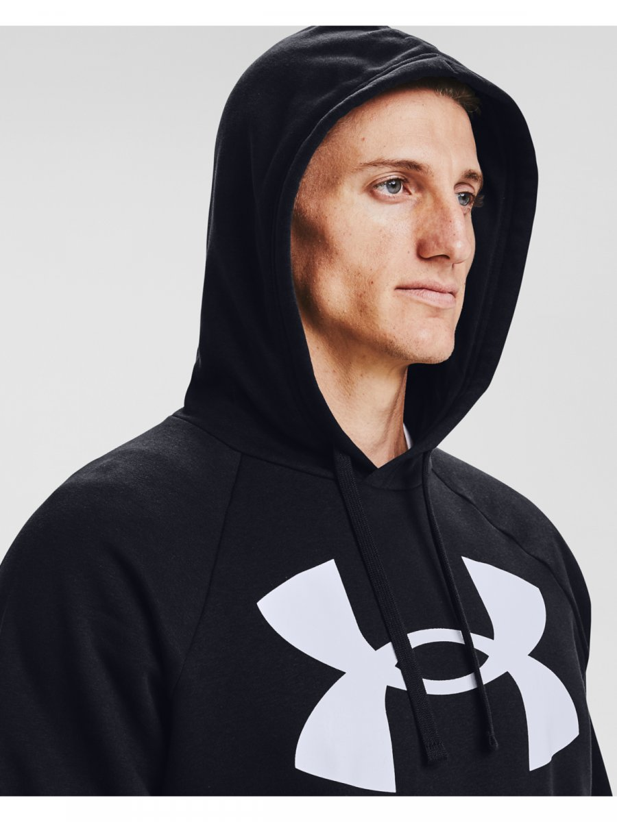 UNDER ARMOUR Męska bluza treningowa UNDER ARMOUR Rival Fleece Big Logo HD  3