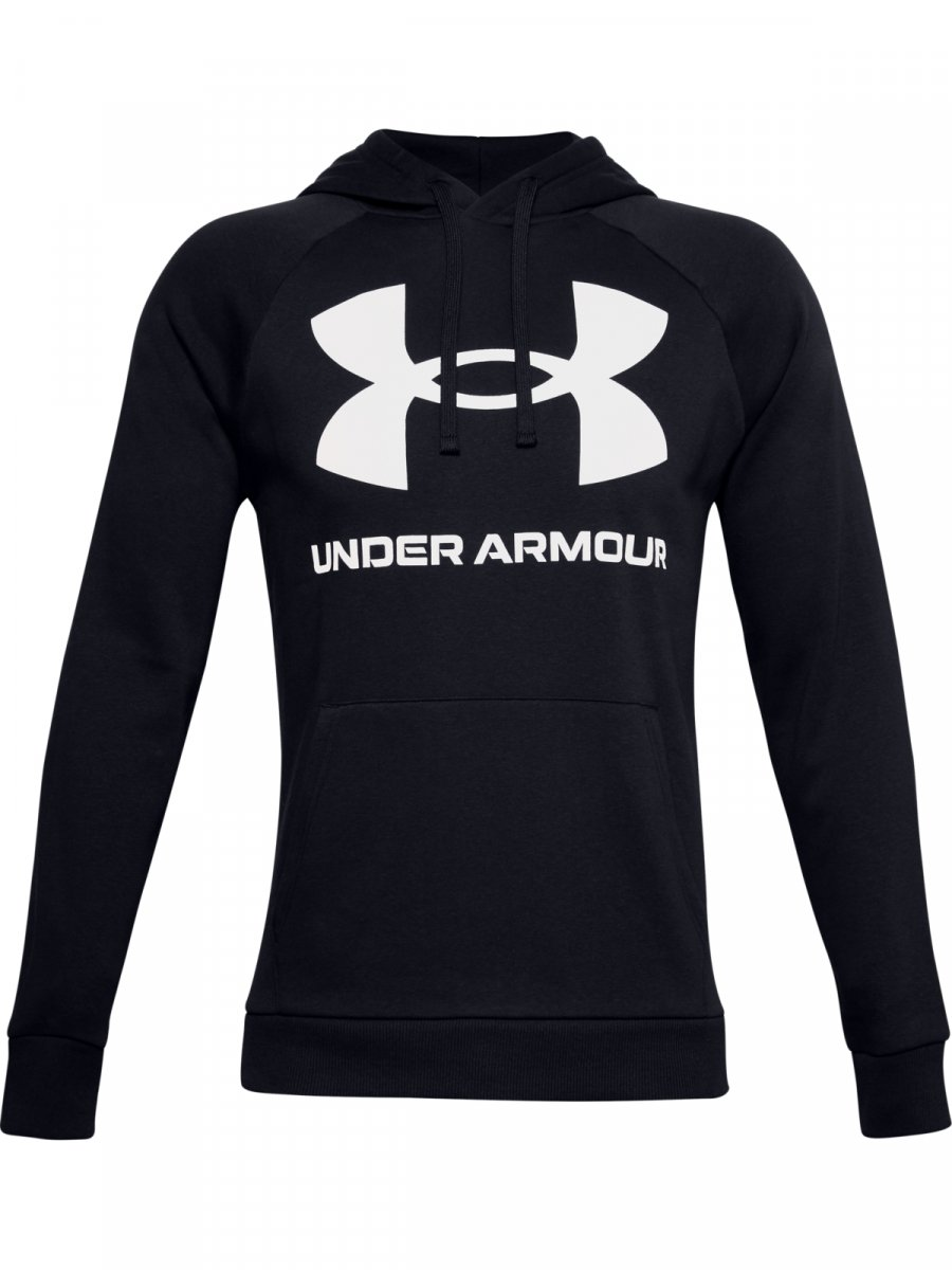 UNDER ARMOUR Męska bluza treningowa UNDER ARMOUR Rival Fleece Big Logo HD  5