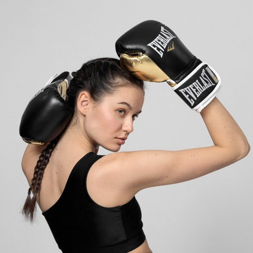 Everlast Rękawice bokserskie EVERLAST  POWER LOCK PU PREMIUM