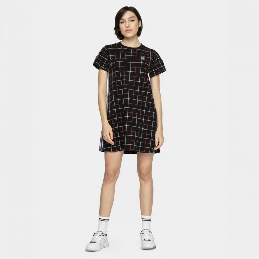 Sukienka FILA  WOMEN WINONA AOP tee dress
