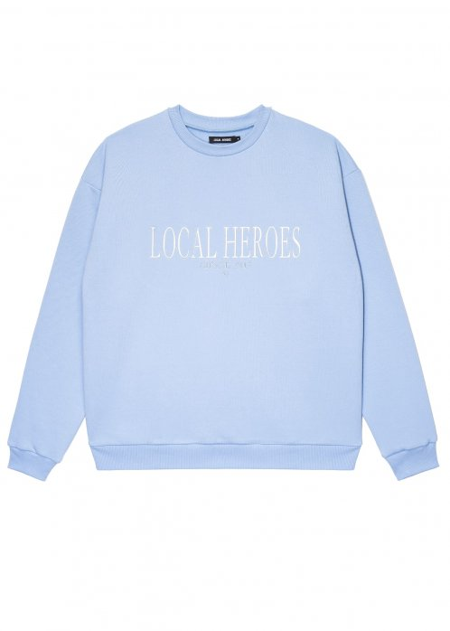 Bluza damska LOCAL HEROES LH 2013 LIGHT BLUE SWEATSHIRT