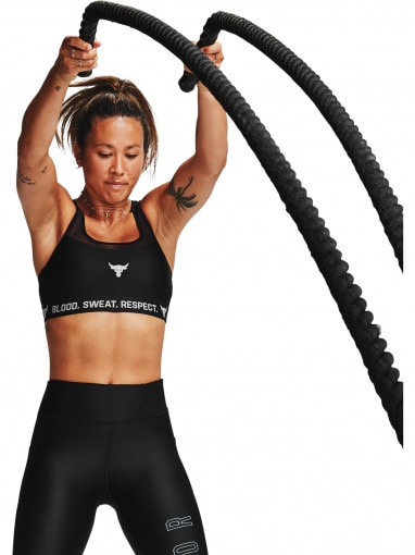 UNDER ARMOUR Biustonosz sportowy UNDER ARMOUR Project Rock Bra Solid
