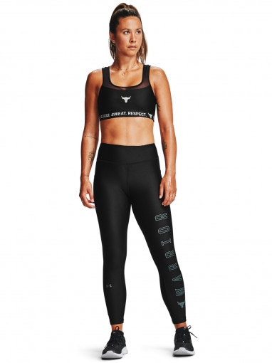 Biustonosz sportowy UNDER ARMOUR Project Rock Bra Solid