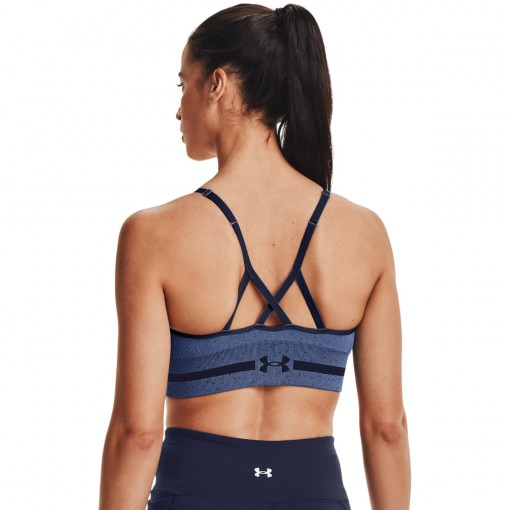 Biustonosz sportowy UNDER ARMOUR UA Seamless Low Long Htr Bra