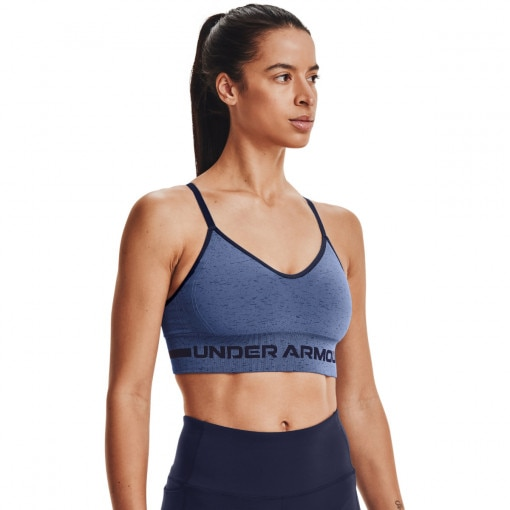 UNDER ARMOUR Biustonosz sportowy UNDER ARMOUR UA Seamless Low Long Htr Bra