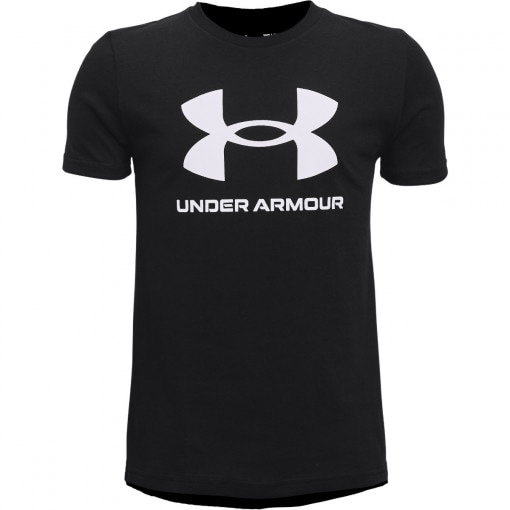 UNDER ARMOUR Chłopięca koszulka treningowa UNDER ARMOUR UA Sportstyle Left Chest SS