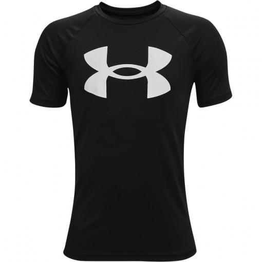 UNDER ARMOUR Chłopięca koszulka treningowa UNDER ARMOUR UA Tech Big Logo SS