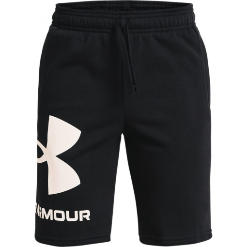 Chłopięce spodenki treningowe UNDER ARMOUR UA RIVAL FLEECE LOGO SHORTS