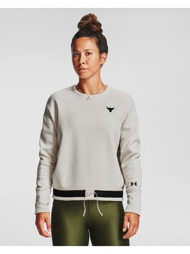 UNDER ARMOUR Damska bluza treningowa UNDER ARMOUR Prjct Rock CC Fleece Crew