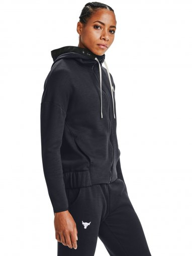 UNDER ARMOUR Damska bluza treningowa UNDER ARMOUR Project Rock CC Fleece FZ