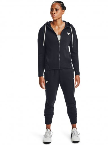 Damska bluza treningowa UNDER ARMOUR Project Rock CC Fleece FZ