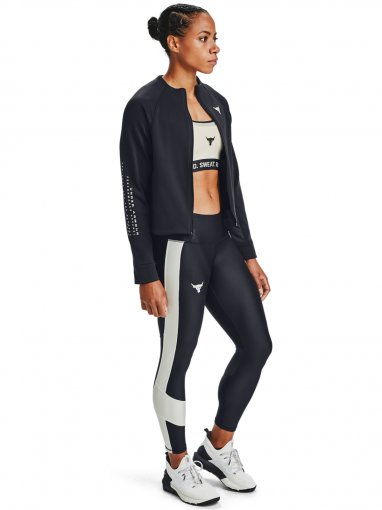 Damska bluza treningowa UNDER ARMOUR Project Rock FZ