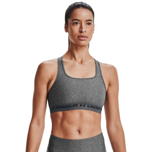 UNDER ARMOUR Damski biustonosz treningowy UNDER ARMOUR UA Crossback Mid Heather Bra