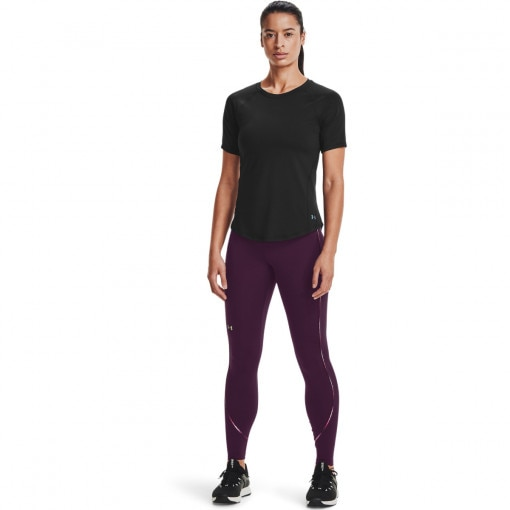 Damskie legginsy treningowe  UNDER ARMOUR UA Rush Scallop Leg NS