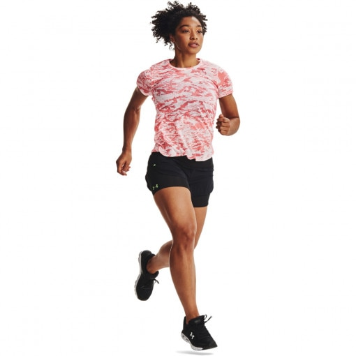 UNDER ARMOUR Damskie spodenki do biegania UNDER ARMOUR RUSH Run 2N1 Short