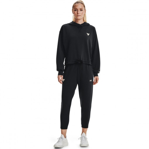 UNDER ARMOUR Damskie spodnie treningowe UNDER ARMOUR UA Prjct Rock Terry Crop Pnt