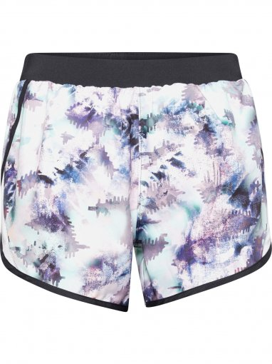 UNDER ARMOUR Damskie szorty do biegania UNDER ARMOUR Fly By 2.0 Printed Short