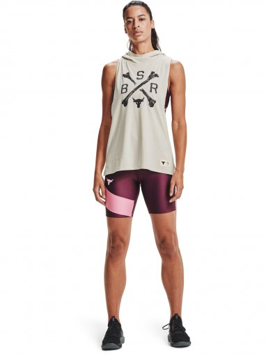 Damskie szorty treningowe UNDER ARMOUR UA Prjct Rock HG Bike Short