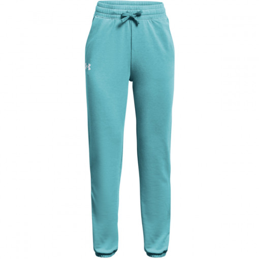 UNDER ARMOUR Dziewczęce spodnie dresowe UNDER ARMOUR Rival Terry Taped Pant