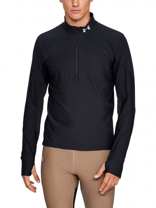 UNDER ARMOUR Męska bluza do biegania UNDER ARMOUR QUALIFIER HALF ZIP
