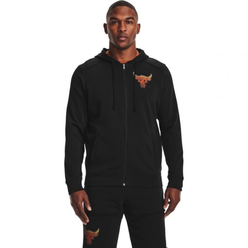 UNDER ARMOUR Męska bluza treningowa UNDER ARMOUR Pjt Rock Terry FZ Hoodie