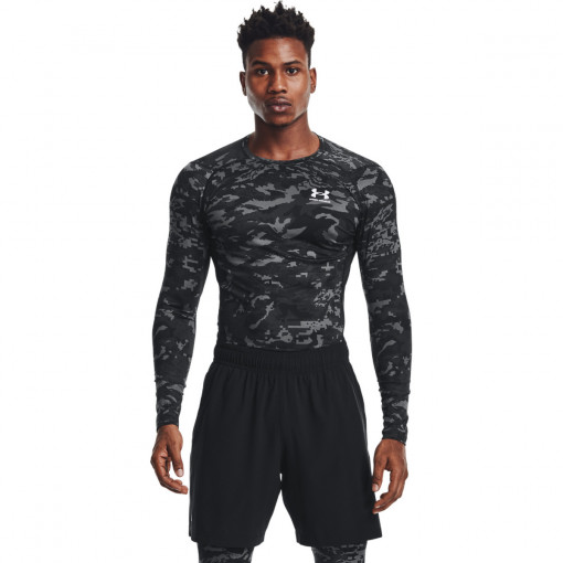UNDER ARMOUR Męski longsleeve treningowy UNDER ARMOUR HG Armour Camo Comp  LS