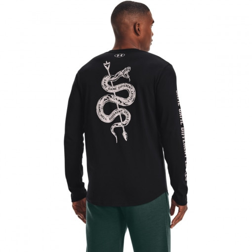 Męski longsleeve treningowy UNDER ARMOUR UA Project Rock Same Game LS