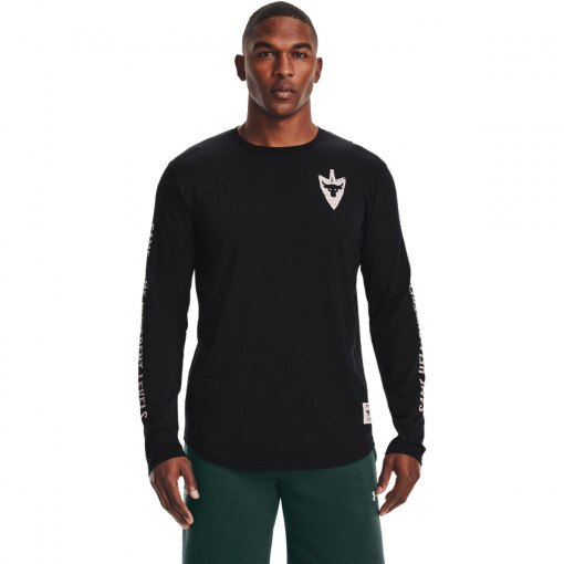 UNDER ARMOUR Męski longsleeve treningowy UNDER ARMOUR UA Project Rock Same Game LS