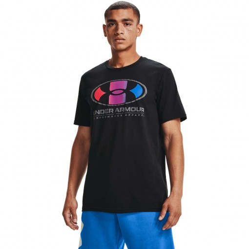 UNDER ARMOUR Męski tshirt UNDER ARMOUR UA MULTI COLOR LOCKERTAG SS
