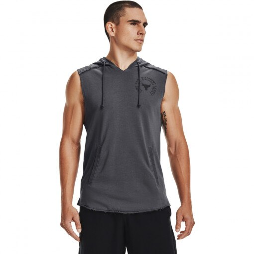 UNDER ARMOUR Męski top treningowy UNDER ARMOUR UA Pjt Rck Terry Snake SL HD