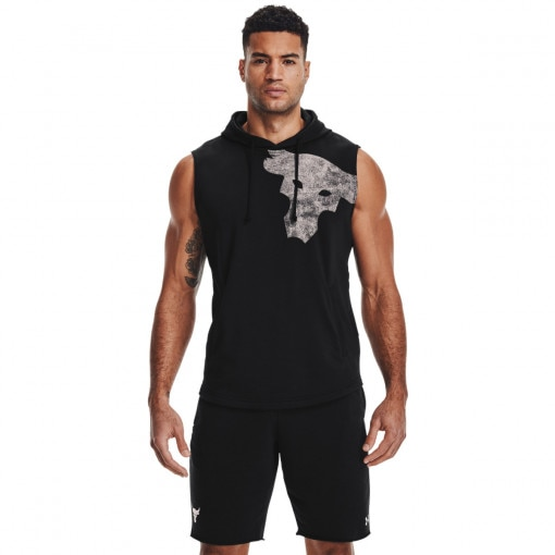 UNDER ARMOUR Męski top treningowy UNDER ARMOUR UA PJT ROCK TERRY BULL SL HD