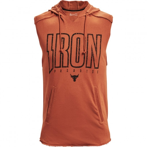 UNDER ARMOUR Męski top treningowy UNDER ARMOUR UA Pjt Rock Terry Iron SL HD
