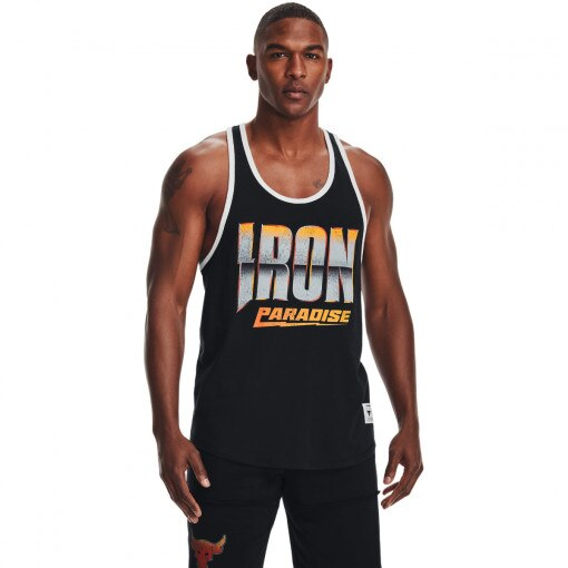 UNDER ARMOUR Męski top treningowy UNDER ARMOUR UA Project Rock Iron Tank