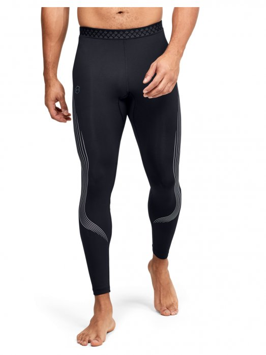 UNDER ARMOUR Męskie legginsy do biegania  UNDER ARMOUR RUSH Run Stamina Tight