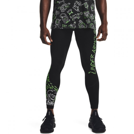 Męskie legginsy do biegania UNDER ARMOUR Run Ur Face Off Tight