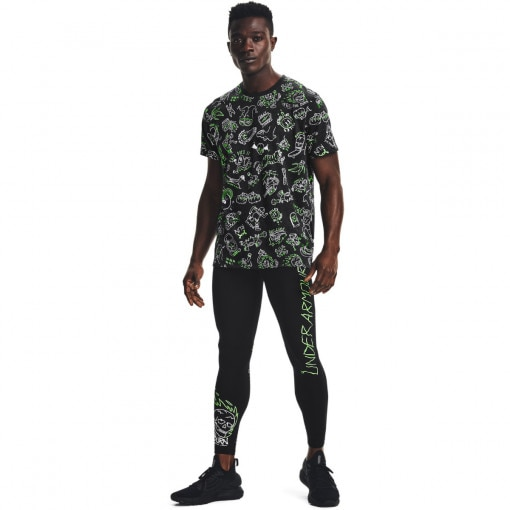 UNDER ARMOUR Męskie legginsy do biegania UNDER ARMOUR Run Ur Face Off Tight