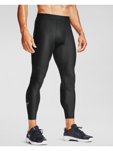 Męskie legginsy treningowe UNDER ARMOUR PROJECT ROCK HG LEGGINGS
