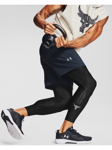 UNDER ARMOUR Męskie legginsy treningowe UNDER ARMOUR PROJECT ROCK HG LEGGINGS