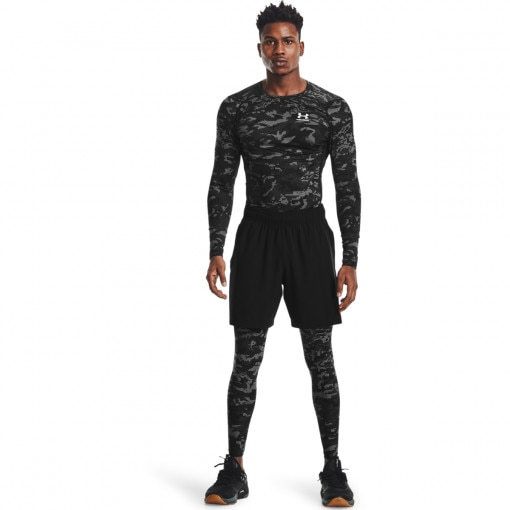 UNDER ARMOUR Męskie legginsy treningowe UNDER ARMOUR UA HG Armour Camo Lgs