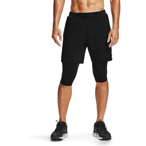 UNDER ARMOUR Męskie spodenki do biegania UNDER ARMOUR Run Anywhere 2N1 Long STS
