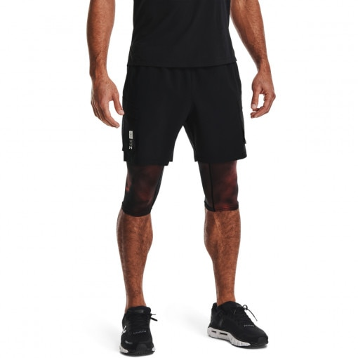 Męskie spodenki do biegania UNDER ARMOUR Run Anywhere 2N1 Short