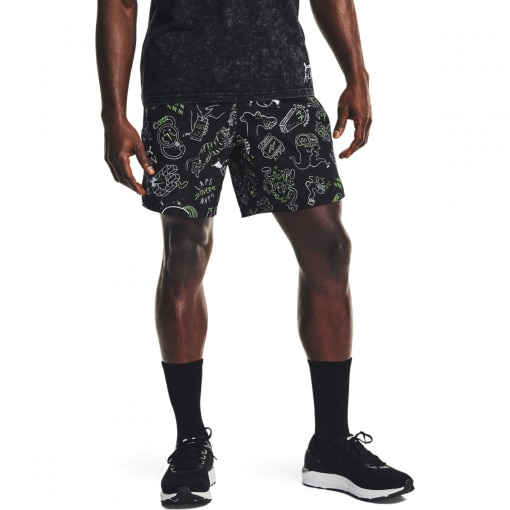 Męskie spodenki do biegania UNDER ARMOUR Run Ur Face Off Short