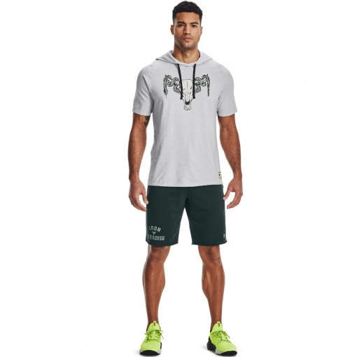 UNDER ARMOUR Męskie spodenki treningowe UNDER ARMOUR Pjt Rock Terry Iron Short