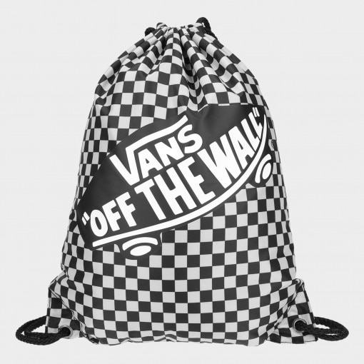 Plecak-worek VANS BENCHED BAG Black/White Check