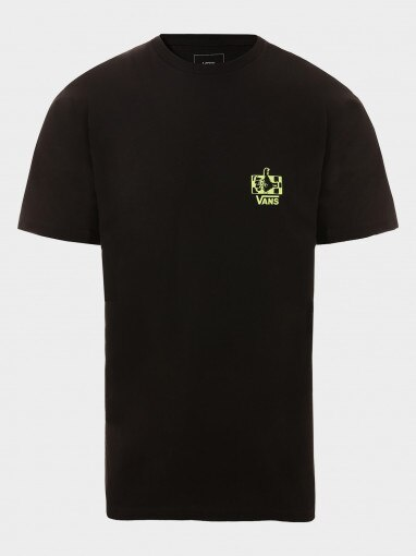 VANS Tshirt męski VANS MN GREEN LIGHTED SS Black